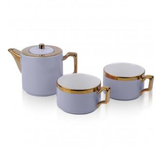 Coffret à thé gris