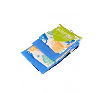 Pack de 4 serviettes
