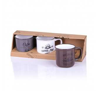 Set de 3 tasses